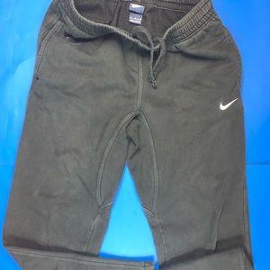 Nike Sweat Pants Mens XL Sweatpants Black White